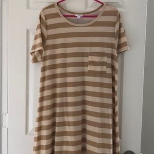 LuLaRoe Striped Large Carly
